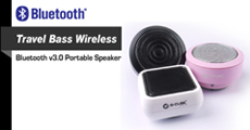 Wireless Travel Portbale Speaker