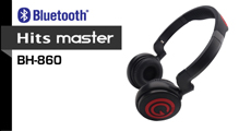 Hits Master Bluetooth v3.0 Headphone